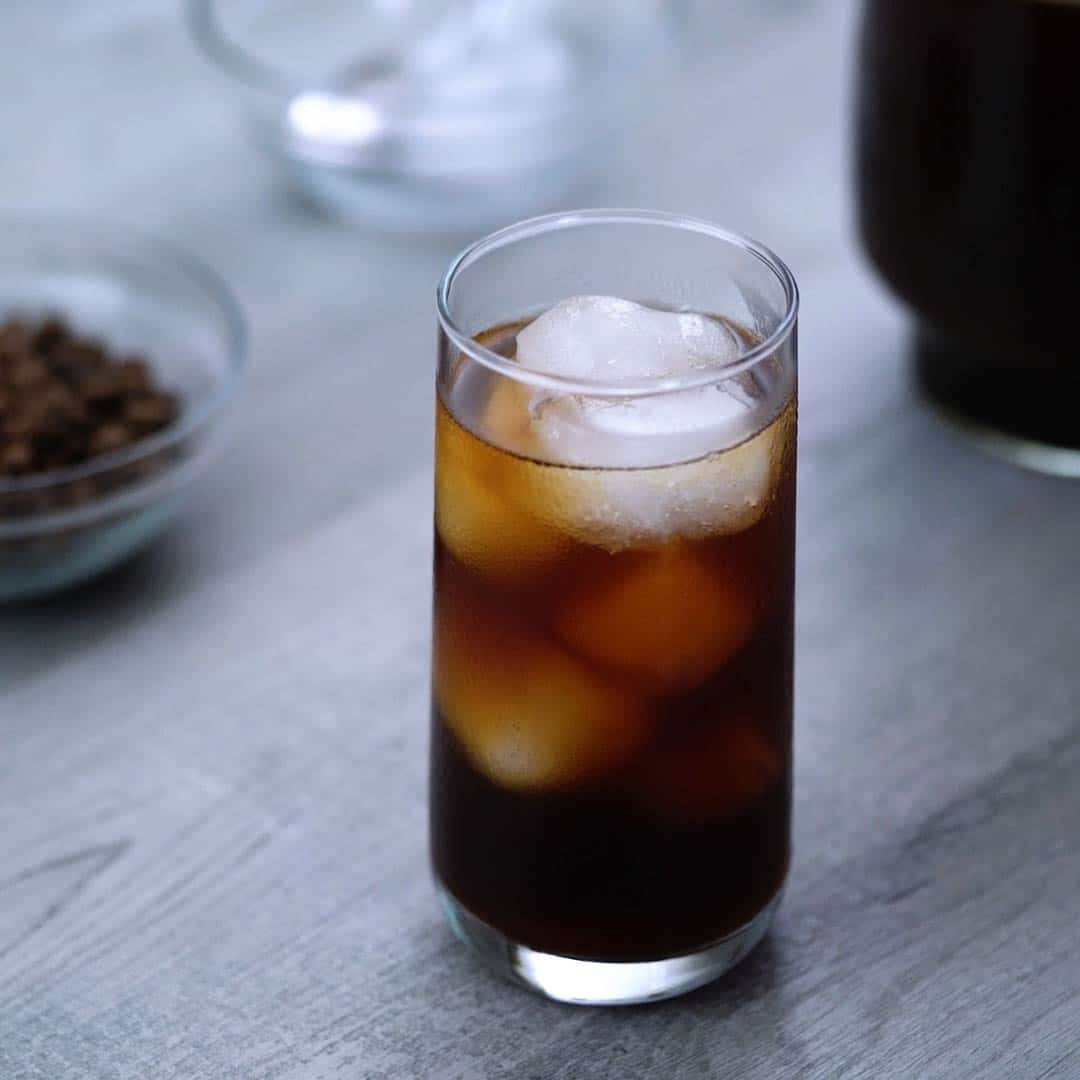 cold brew coffee has served